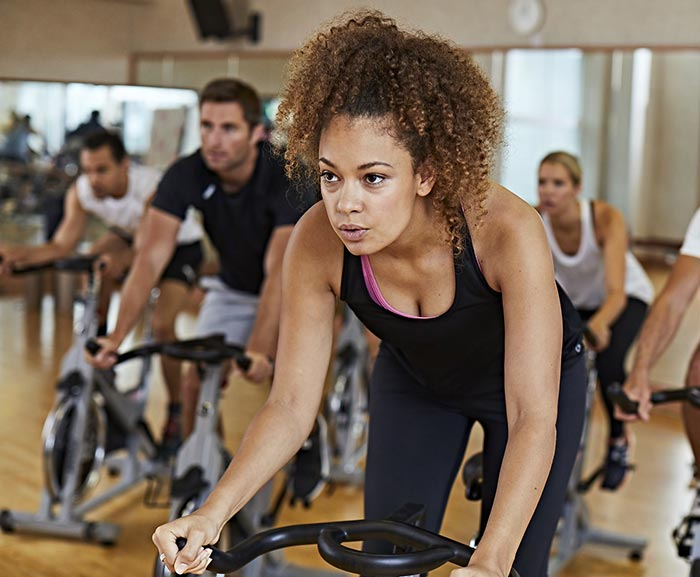 Classes available at Marriott Fitness